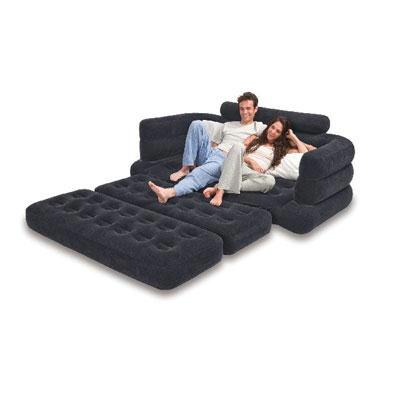 Intex Queen Inflatable Pull Out Sofa Bed Walmart