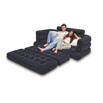 intex queen inflatable pull out sofa bed. Black Bedroom Furniture Sets. Home Design Ideas