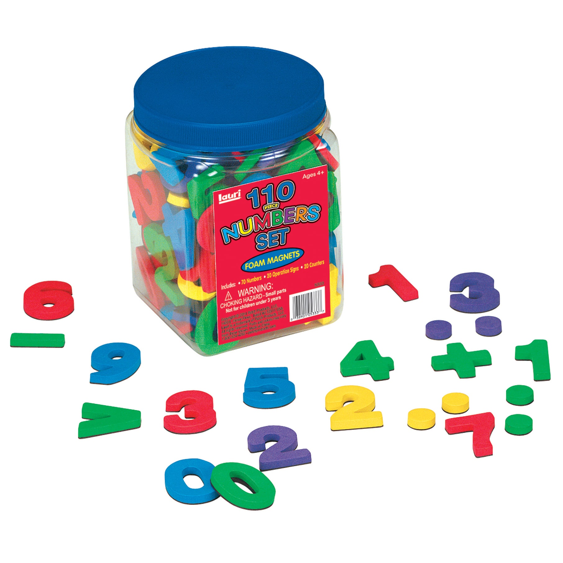 LAURI Magnetic Numbers, 120pc