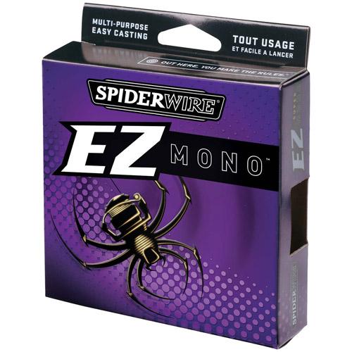 Spiderwire EZ Monofilament Fishing Line, Clear Blue by Spiderwire