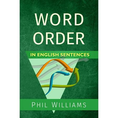 Word Order in English Sentences (Paperback)