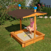 Exaco FELIX Sandbox with Adjustable Roof