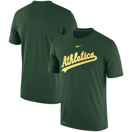 Oakland Athletics Light (Oakland Athletics Nike Legend Primary Logo Performance T-Shirt - Green )