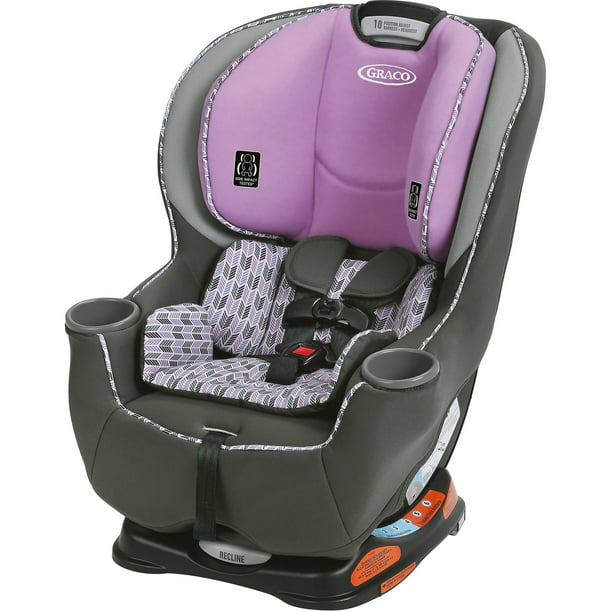 Graco Sequel 65 Convertible Car Seat With 6 Position Recline Ara Pink Walmart Com Walmart Com