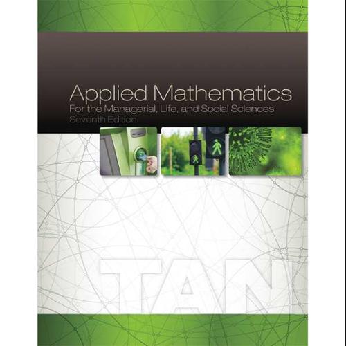 CENGAGE LEARNING 9781305107908 Book,Applied Mathematics,7th G0122669