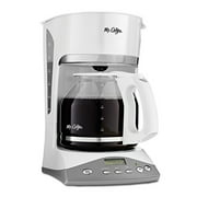 Mr. Coffee SKX20-RB 12-Cup Programmable Coffeemaker White