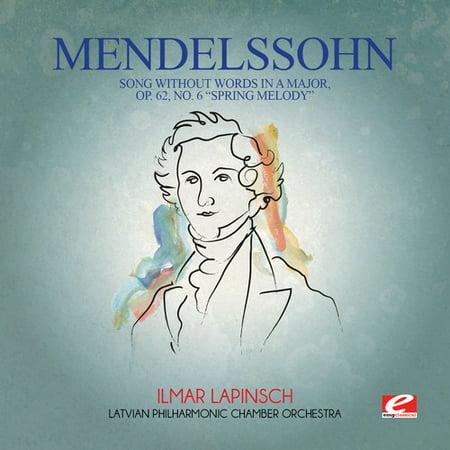 Felix Mendelssohn - Mendelssohn: Song Without Words in a Major Op 62 (Halloween Songs With Words)