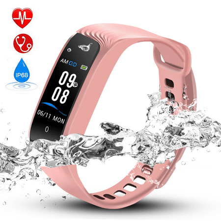 24dfb4f7072fd Hommie Color Screen Fitness Tracker,Waterproof Sport Smart Watch ...