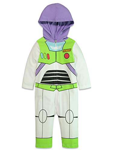 Girls Buzz Light Year Toy Story Green Dress Cosplay Costume Everyday 12M-8