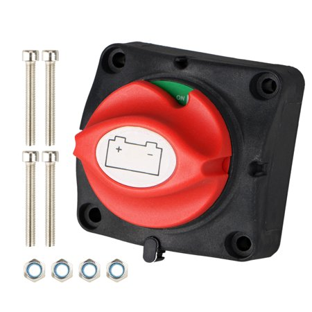 TSV Car SUV RV Marine Boat 12V Battery Isolator Disconnect Rotary Switch Cut (Car Audio Battery Isolator)