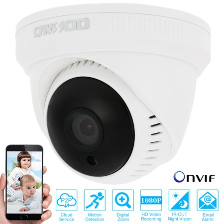Owsoo 24 Leds Full Hd 1080P Ip Cloud Camera Cctv Surveillance Security Network Indoor Dome Camera