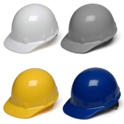Pyramex Cap Style 4 Point Ratchet Suspension Sleek Shell Hard Hat Multi-Colored