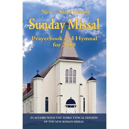 St. Joseph Sunday Missal and Hymnal for 2018 : Canadian