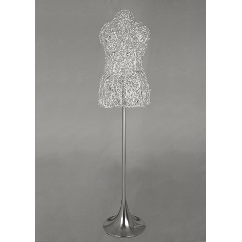 Bethel International MN Series Wire Lady's 65'' Novelty Floor Lamp by