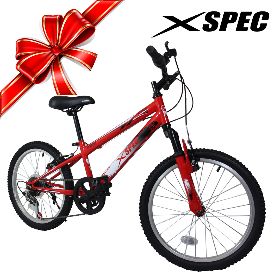 "Xspec 20"" 6 Speed Boys Junior Teen Mountain Bike Bicycle ..."