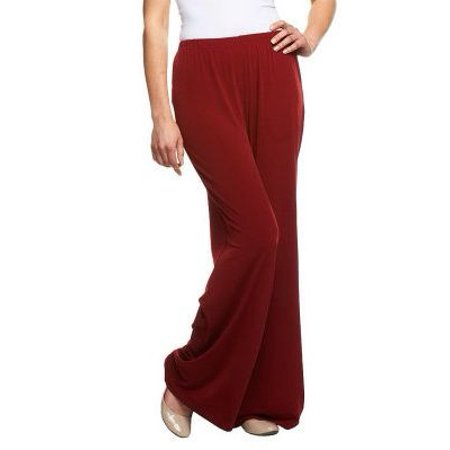 Bob Mackie's Wide Leg Regular Length Knit Pants