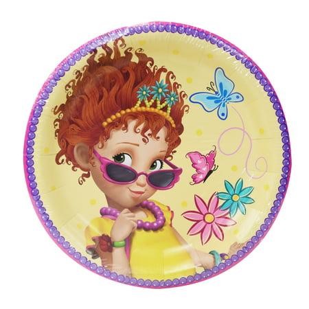 Fancy Paper Plates (Disney Fancy Nancy Paper Dinner Plates, 9in,)