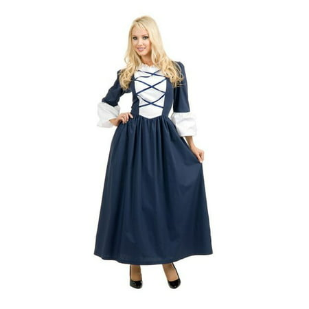 Womens Colonial Lady Costume (Authentic Colonial Costumes)