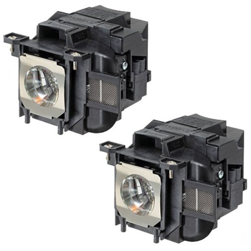 Powerwarehouse Epson EX3220 SVGA 3LCD Projector Lamp by Powerwarehouse - Premium Powerwarehouse Replacement Lamp (QTY: 2
