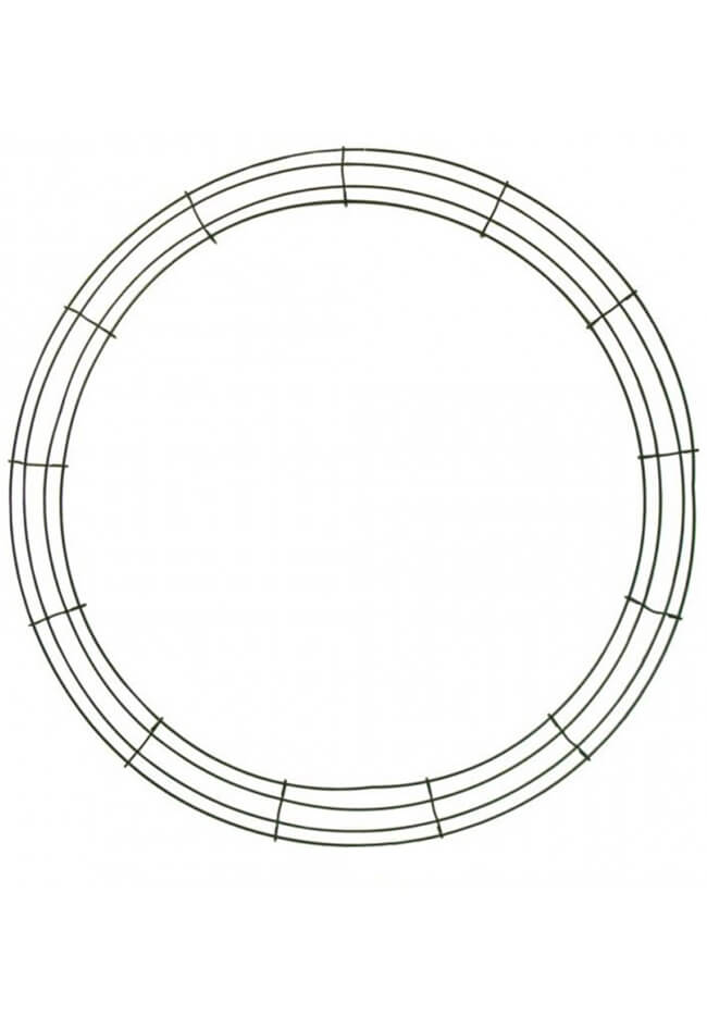 10 Pieces Of Box Wire 24 Inches Wreath Frame