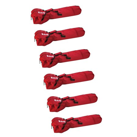 Eskimo Ice Fishing Universal Auger Powerhead and Bit Gear Carry Bag (6 Pack)