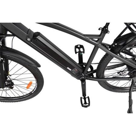 "T4B Enduro Hard Tail City and All Terrain Bike - Bafang 350W Brushless Electric Motor, 8 Speed, Samsung Li-Ion Battery 36V13Ah, 27.5"" Tires - Black - image 5 de 12"