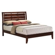 Wood Sleigh Bed (Queen: 85 in. L x 64 in. W x 51 in. H (84.7 lbs.))