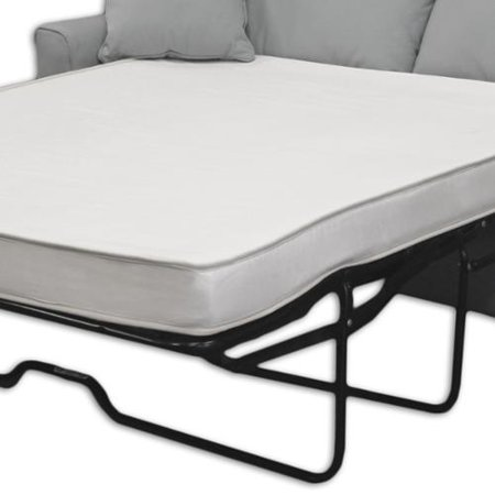 Flippable 4-inch Twin-size Foam Sofa Sleeper Mattress (Mattress