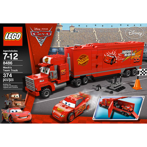 LEGO Disney Cars Mack's Team Truck