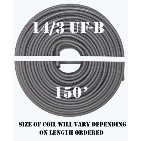 14/3 UF-B x 150' Southwire Underground Feeder Cable - Nozzle Cable Feeder