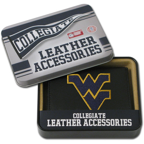 NCAA - Men's West Virginia Mountaineers Embroidered Trifold Wallet