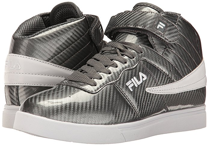 Fila VULC 13 WINDSHIFT Mens Castlerock Gray Midcut Sneaker Shoes by Fila