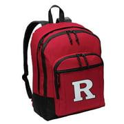 Rutgers University Backpack MEDIUM SIZE RU Backpacks & School Bags