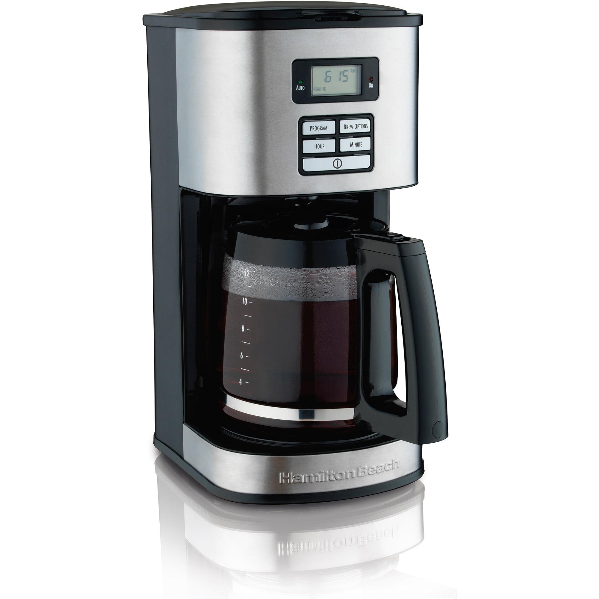 Hamilton Beach Digital 12 Cup Programmable Coffee Maker | Model# 49618
