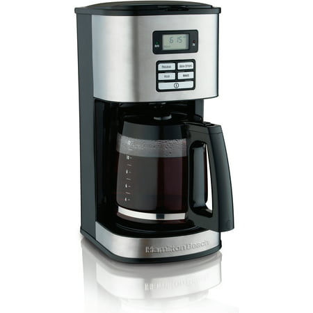 8 Cup Programmable Thermal - Hamilton Beach Digital 12 Cup Programmable Coffee Maker | Model# 49618