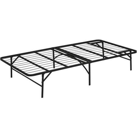 furinno angeland mattress foundation platform metal bed frame multiple sizes - Platform Metal Bed Frame
