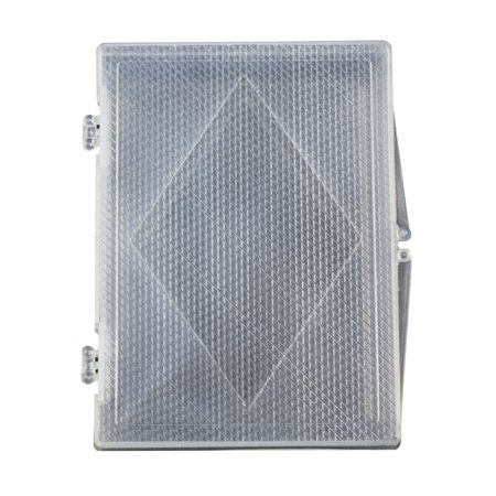 Clear Playing Card Deck Protector Coin Storage Box ID Badge Case ()