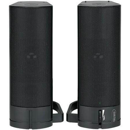 DIGITAL INNOVATIONS 4330200 AcoustiX(TM) Speaker Systerm 2.0 USB Desktop/Soundbar ()
