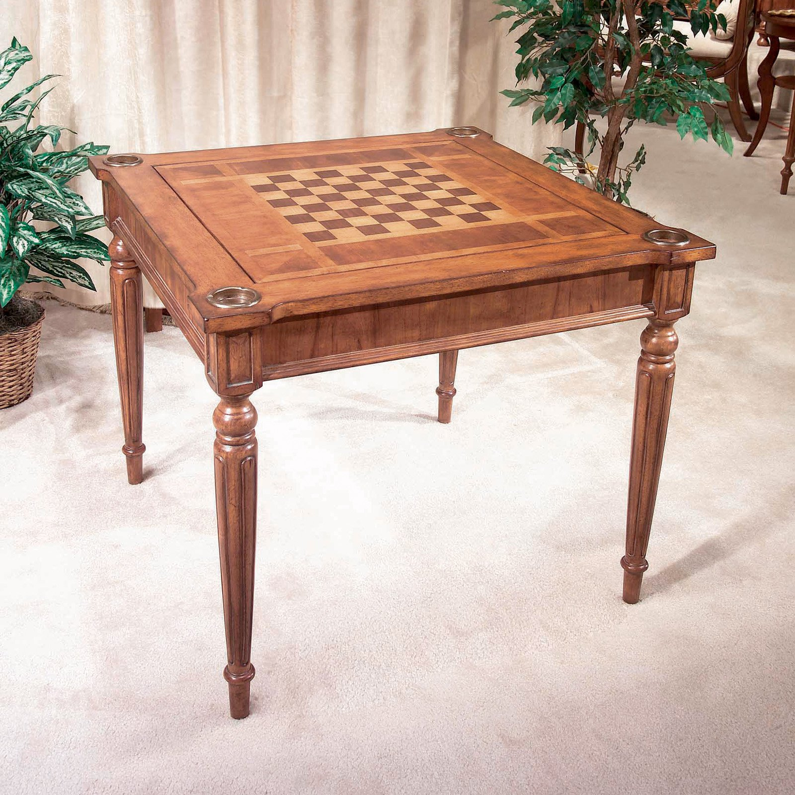 Butler Masterpiece Collection Wood Multi Game Card Table   Walmart.com