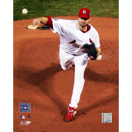 Chris Carpenter Game 3 2006 World Series Action Photo Print