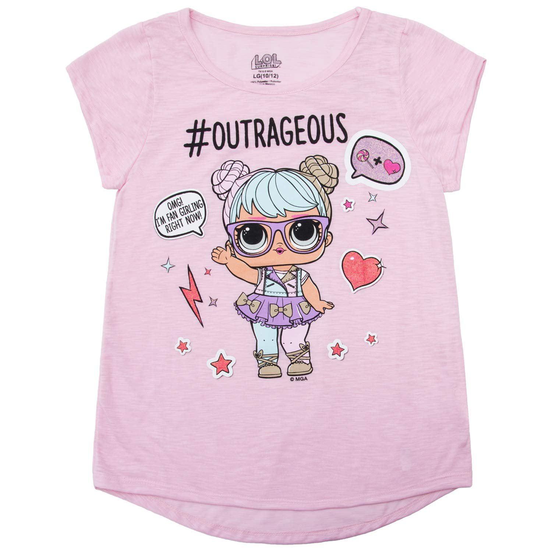 f665674d4e26 L.O.L Surprise! Girls T-Shirt Set - 3 Pack of LOL Surprise Tees - Lil  Outrageous Littles T-Shirts (Large-10/12) - Walmart.com