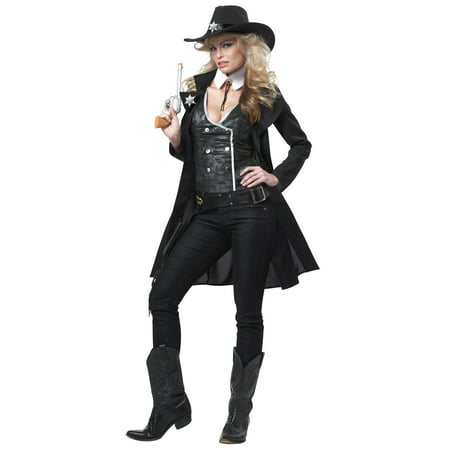 Round Em Up Cowgirl Costume (Women's Lone Cowgirl Costumes)