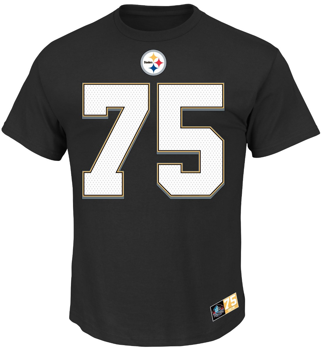 "Joe Greene Pittsburgh Steelers Majestic NFL ""Eligible Receiver II"" T-Shirt"