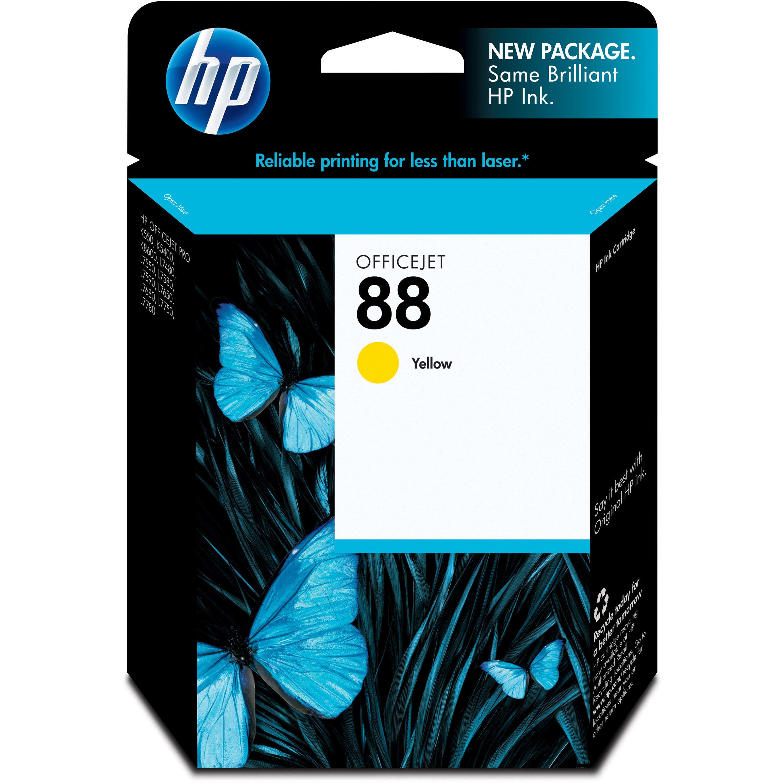 HP 88, (C9388AN) Yellow Original Ink Cartridge