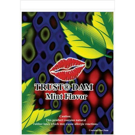 Latex Dental Dam - Mint - Use Latex Dental Dam