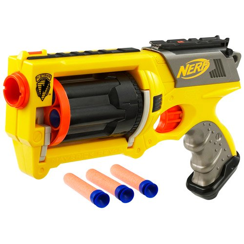 Nerf N-Strike Maverick REV-6 Blaster - Walmart.com - Walmart.com
