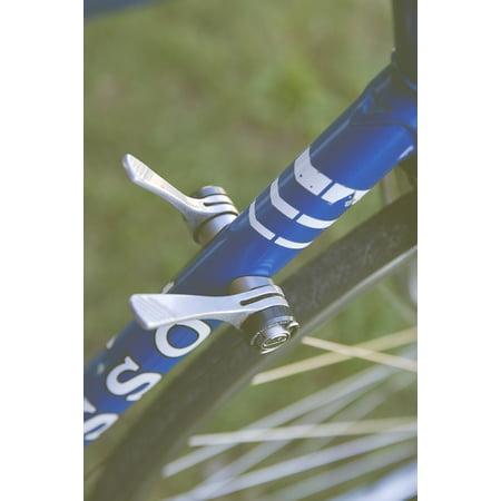 (LAMINATED POSTER Retro Urban Bike Circuit Road Bike Trend Vintage Poster Print 24 x 36)