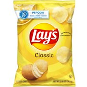 Lay's Classic Potato Chips, 2.625 oz Bag