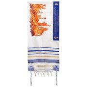 Prayer Shawl-Flame Of Pentecost (72  X 22 )-Acrylic (#2223)