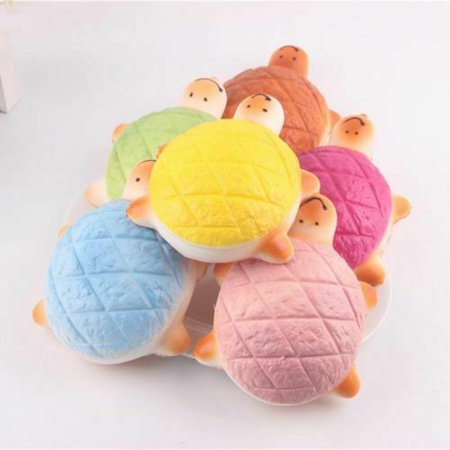Squishy Turtle (KABOER Jumbo Squishy Turtle Rising Slow Toy Phone Charms Pendant Strap Soft Gift)